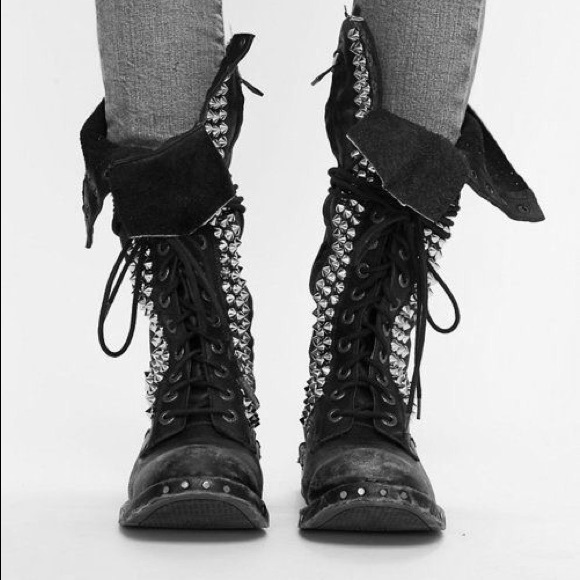 Jeffrey Campbell Shoes - Jeffrey Campbell Seattle Love Studded Boots